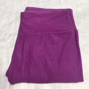 NWT LuLaRoe OS Leggings Solid Pink
